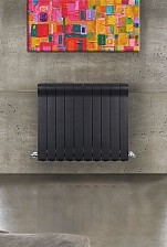 Алюминиевый радиатор Radiatori2000 Ottimo 500 Antracit