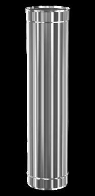 d.100 teava 1000 mm (inox 304)
