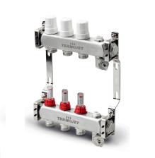 Set distribuitor inox Termojet 3 cai cu debitmetru TJ-W-03