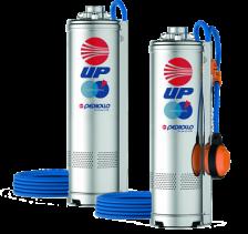 Pompa submersibila Pedrollo UPm4/4-GE 0.75 kW pina la 52 m