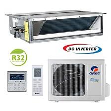 Conditioner de tip canal inverter Gree U-MATCH GUD100PHS/A-T+GUD100W/HhA-X 36000 BTU