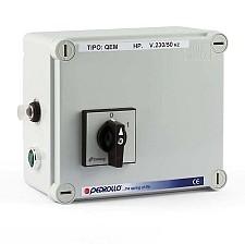 Panoul de control Pedrollo QEM 075 (0.75 cp)