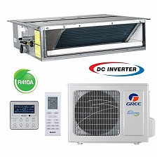 Conditioner de tip canal inverter Gree U-MATCH GFH24K3FI+GUHD24NK3FO 24000 BTU