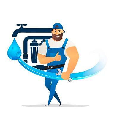 Монтаж системы умягчения воды