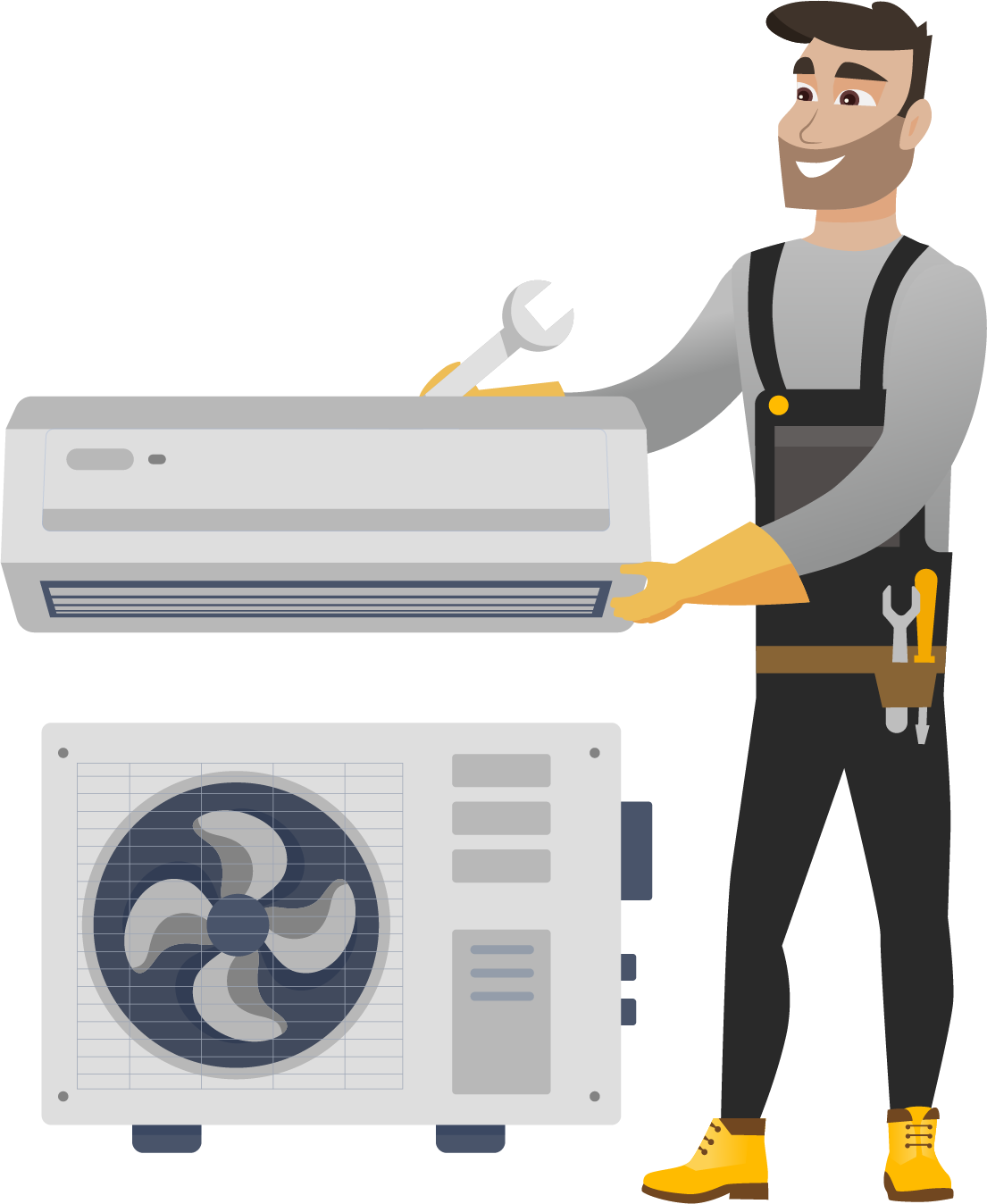 Profilaxia aparatului de aer conditionat (pe garantie)